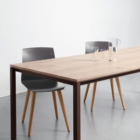 tisch s 600 eiche von janua. Black Bedroom Furniture Sets. Home Design Ideas