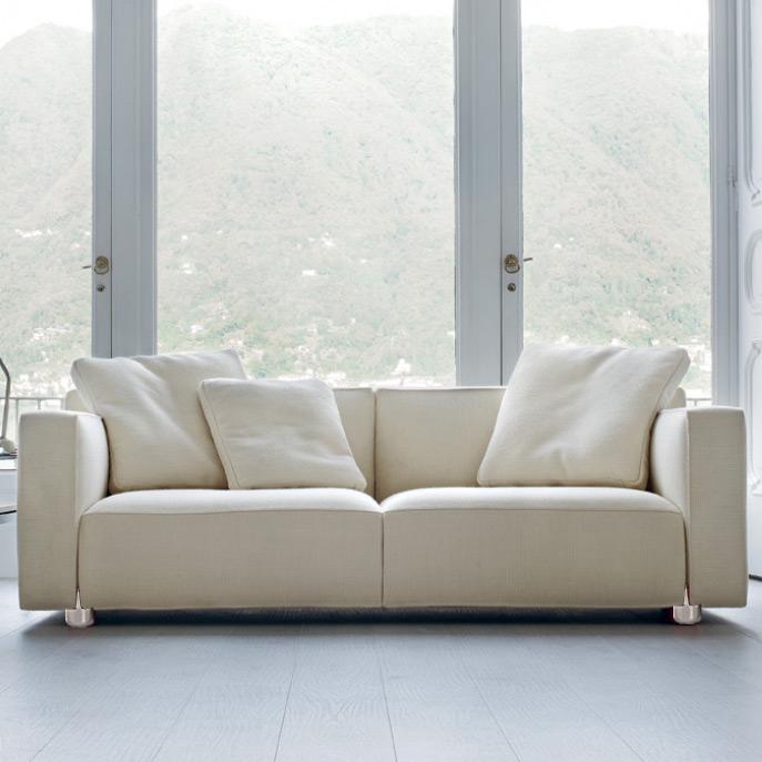 Florence knoll 3 seat sofa hivemodern com - Dieter Knoll Sofa Vinci Carprola For