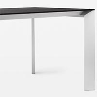 nori fenix ntm tisch von kristalia. Black Bedroom Furniture Sets. Home Design Ideas