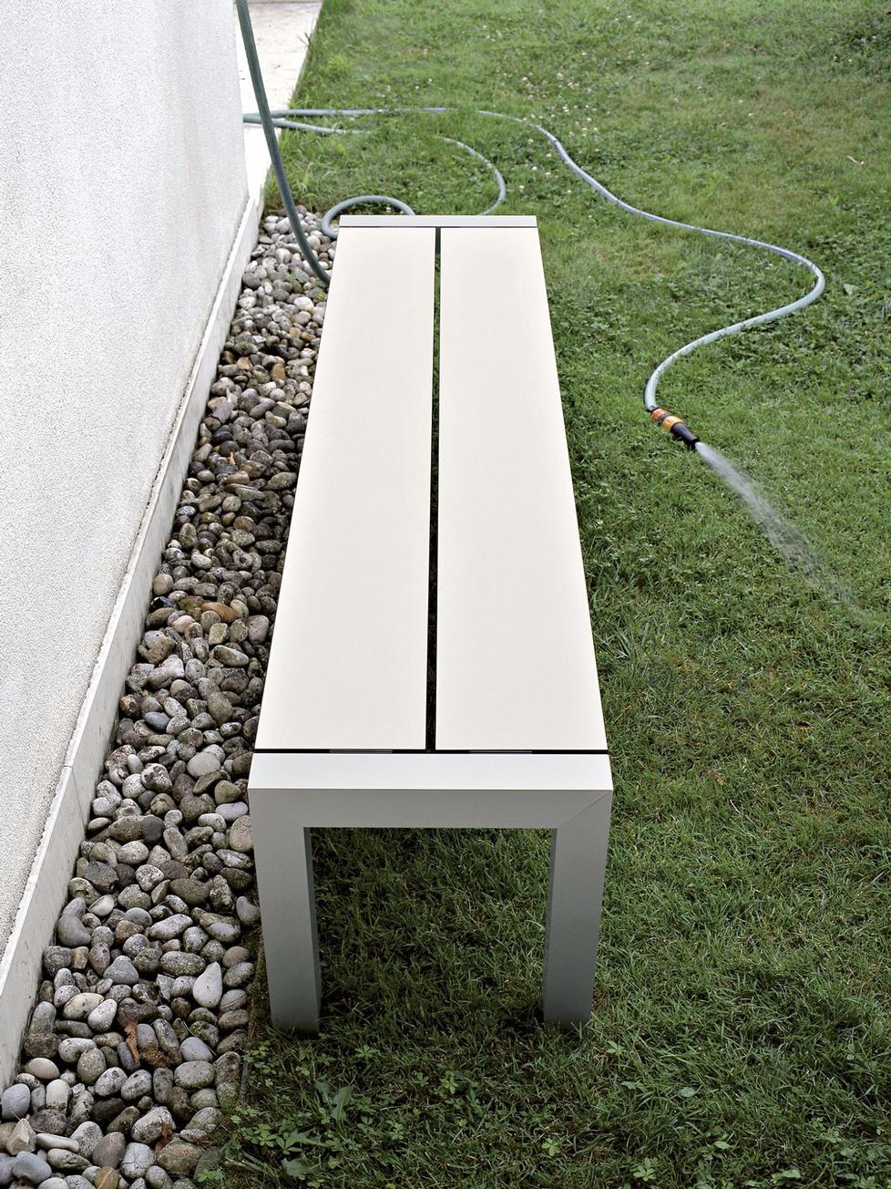 sushi outdoor sitzbank von kristalia. Black Bedroom Furniture Sets. Home Design Ideas