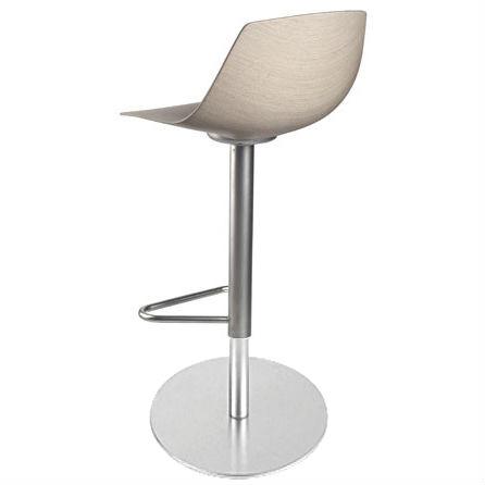 Miunn round bar stool by lapalma for Barhocker rund