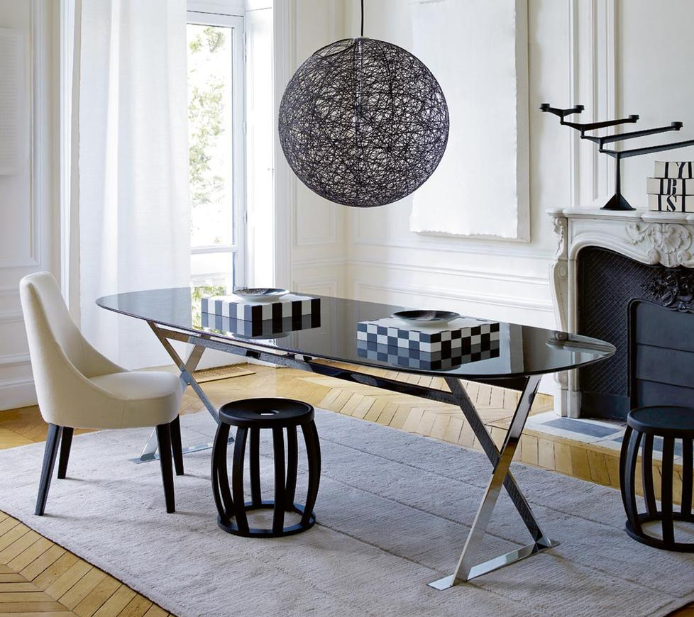 dining tables pathos by maxalto. Black Bedroom Furniture Sets. Home Design Ideas