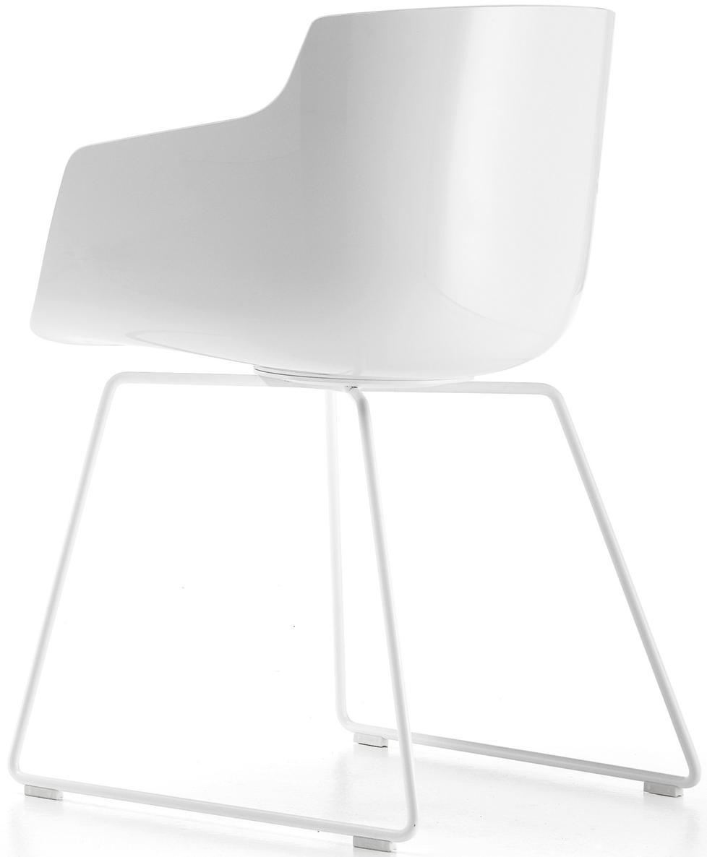 sessel flow slim kufen von mdf italia. Black Bedroom Furniture Sets. Home Design Ideas