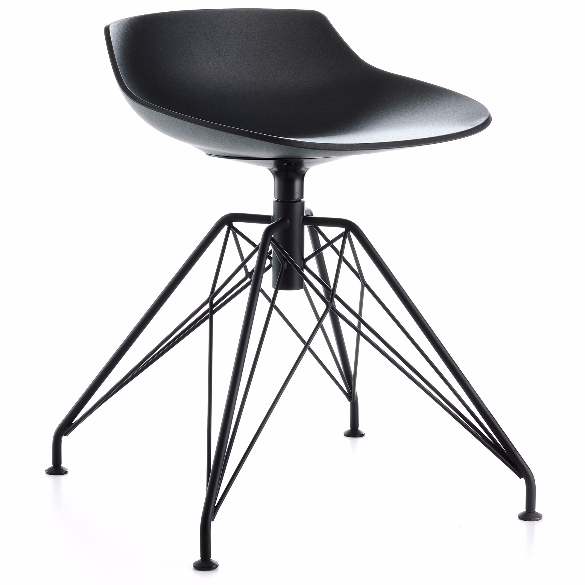 Flow stool mit lem 4 fu gestell von mdf italia - Tabouret de bar quatre pieds ...