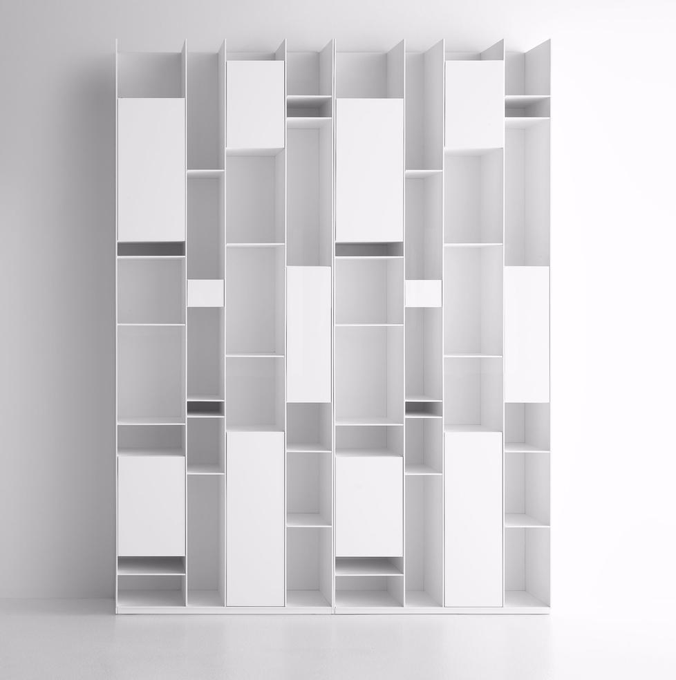schranksystem random cabinet von mdf italia. Black Bedroom Furniture Sets. Home Design Ideas