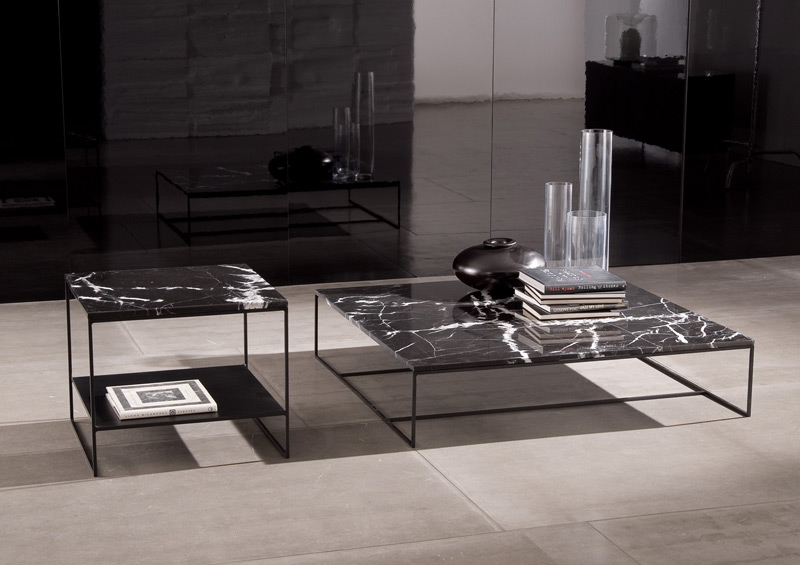 Coffee table series calder by minotti for Minotti coffee table