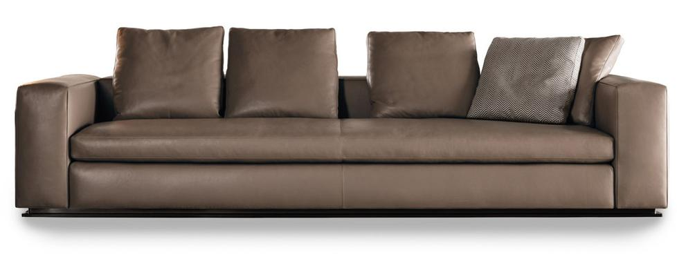 sofa leonard by minotti. Black Bedroom Furniture Sets. Home Design Ideas