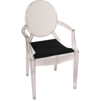 Zoom GallerySeat cushion SFC 038 for chair Louis Ghost. Ghost Chair Louis. Home Design Ideas