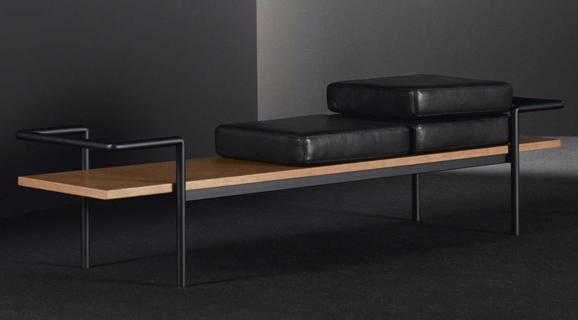 sitzkissen f r bank t904 von poltrona frau. Black Bedroom Furniture Sets. Home Design Ideas