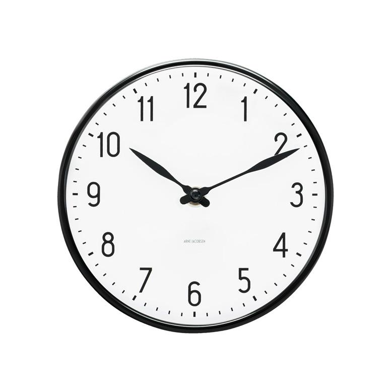 aj station wanduhr von timepieces rosendahl copenhagen. Black Bedroom Furniture Sets. Home Design Ideas