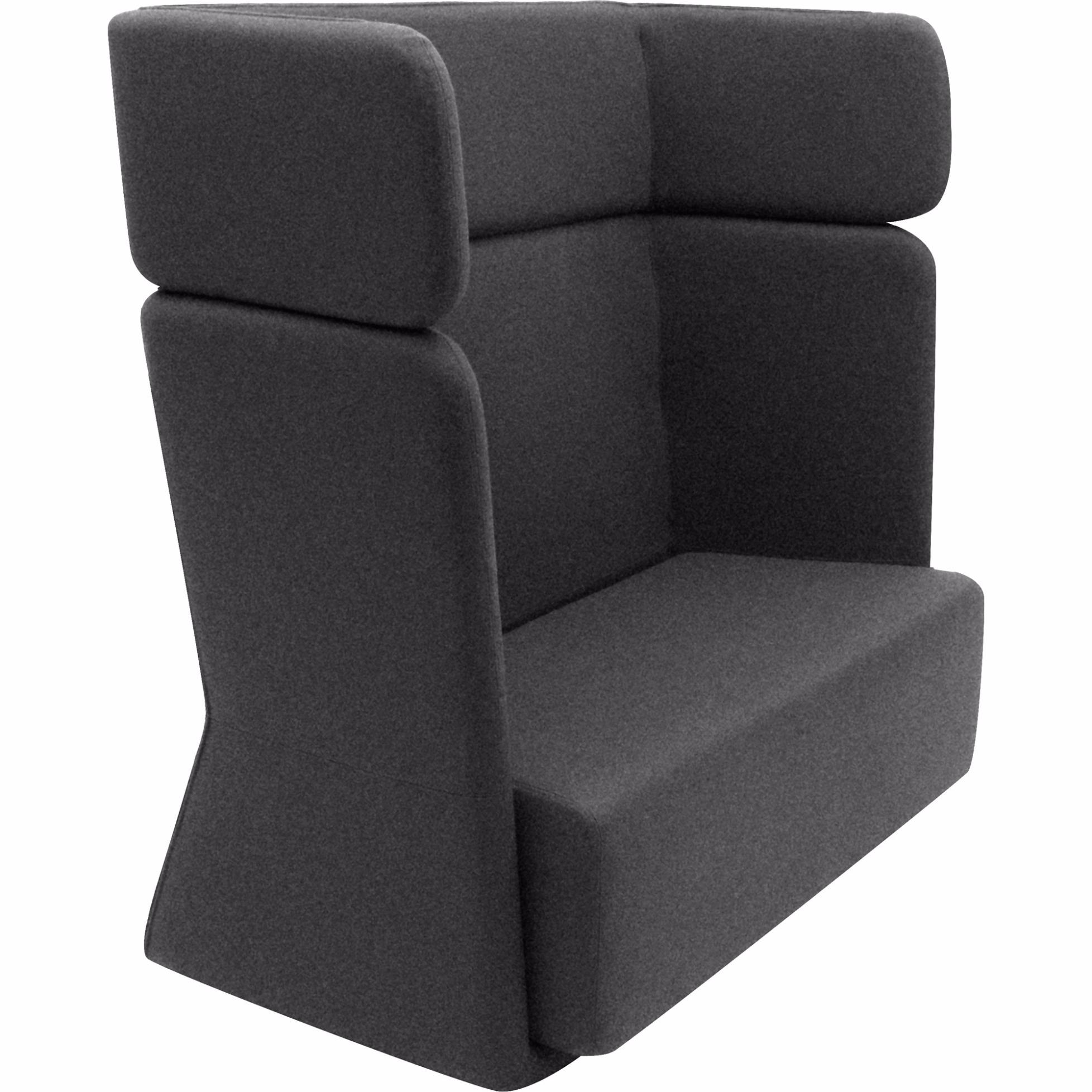 sessel sofa hoch von softline. Black Bedroom Furniture Sets. Home Design Ideas