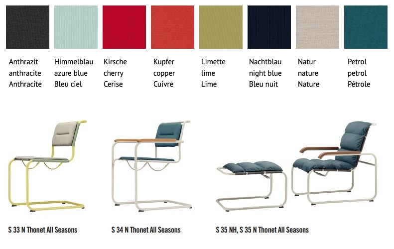 seat cushion All Seasons by thonet