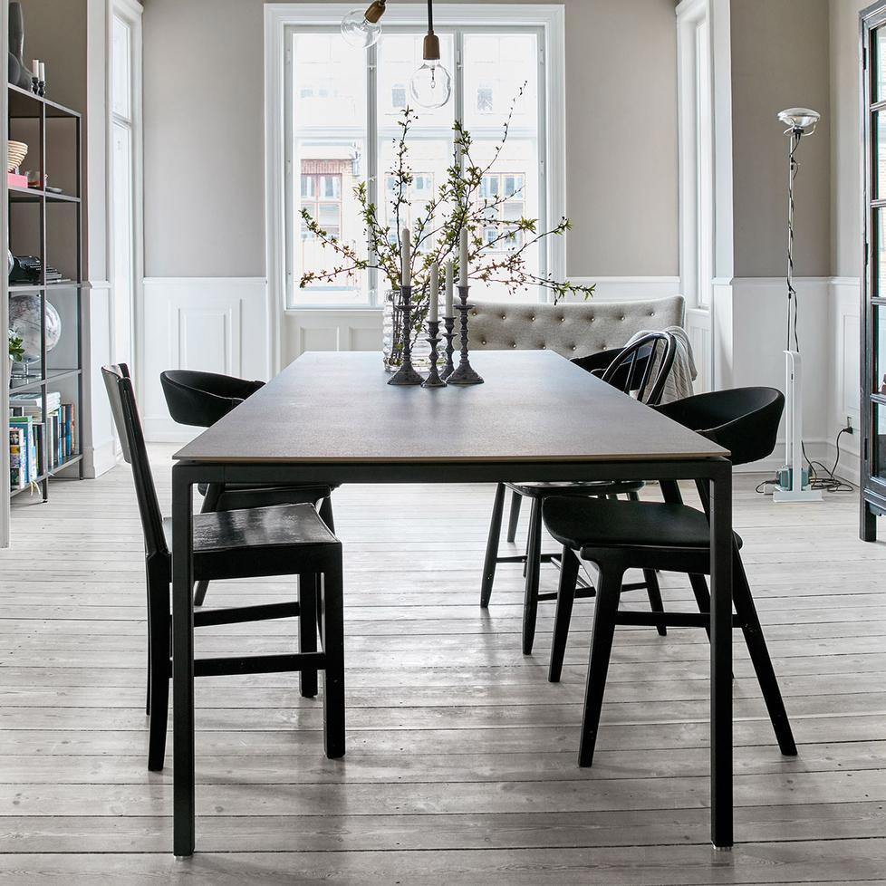 vipp 971 keramik tisch 200x95cm. Black Bedroom Furniture Sets. Home Design Ideas
